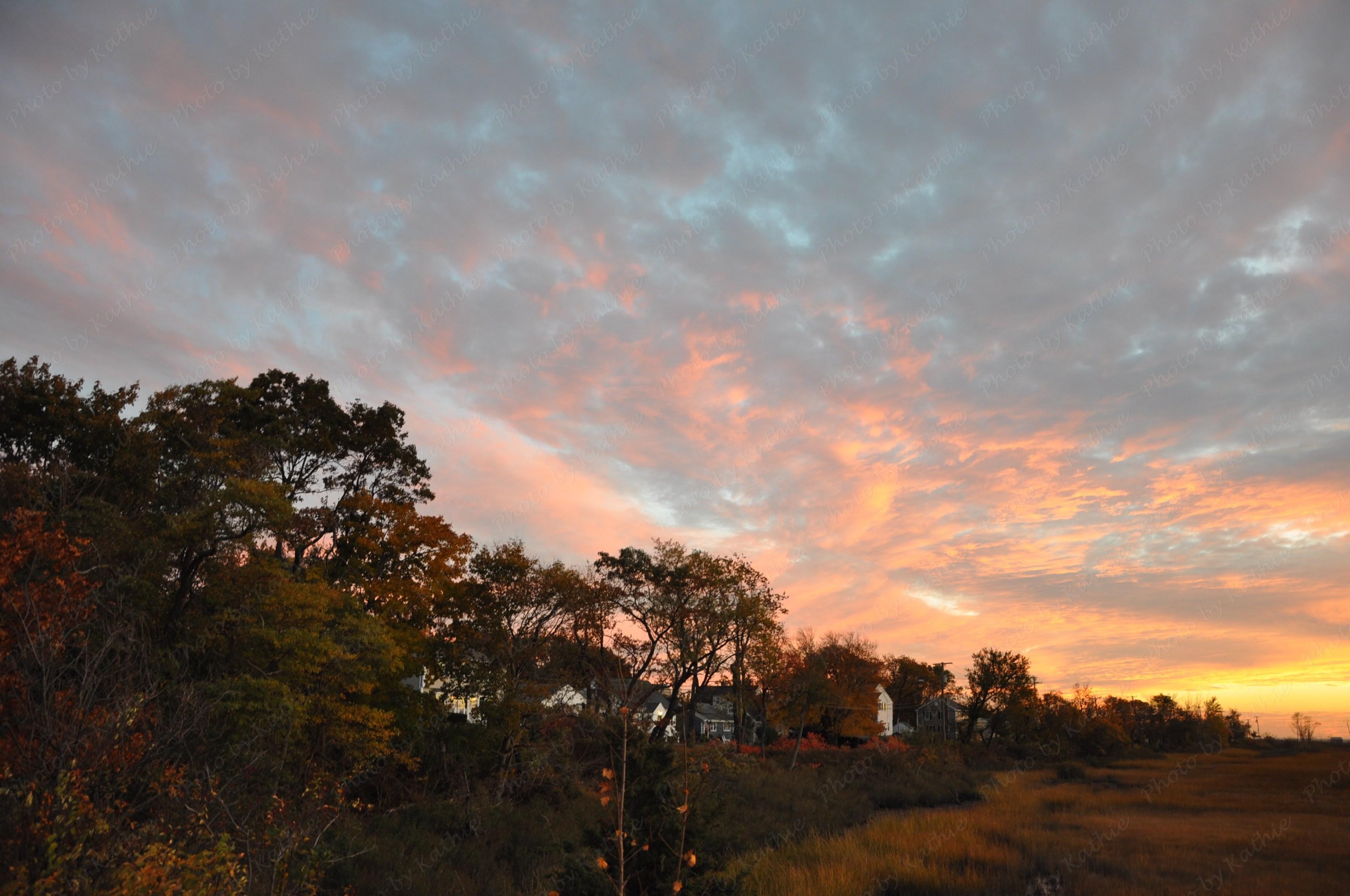 Sunset: November 1, 2013