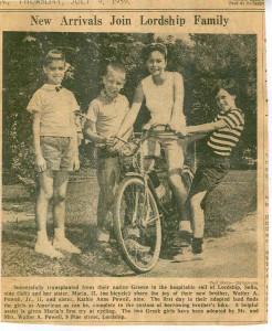 Greek Sisters and Bike